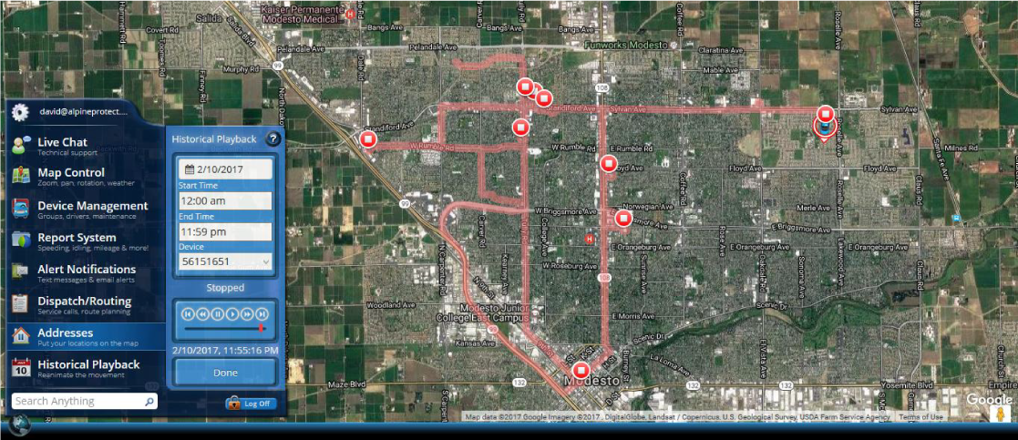 Technologically Advanced GPS Tracking
